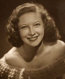 Actress Lurene Tuttle