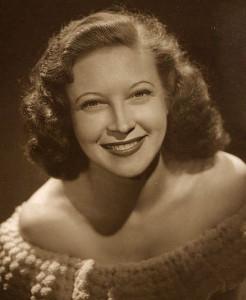 Actress Lurene Tuttle