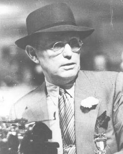 vintage photo of Damon Runyon
