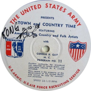 disc label, Town and Country 11
