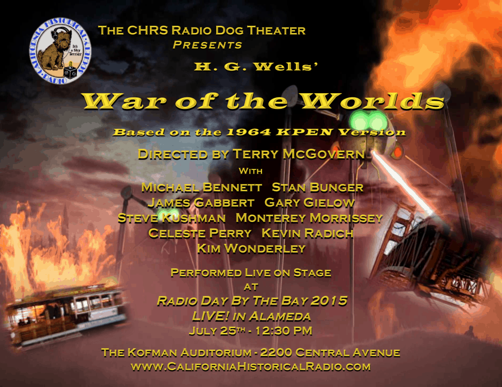 War of the Worlds  flyer