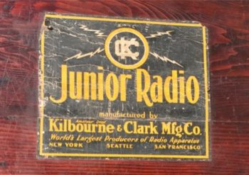 Kilbourne & Clark Radio Kit Box – By Bart Lee K6VK