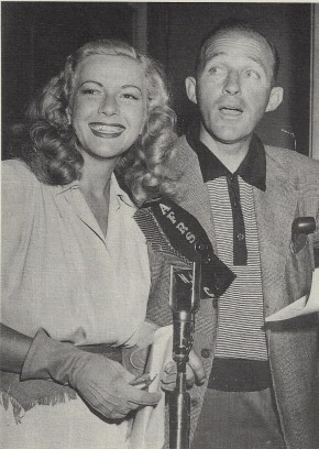 Martha Wilkerson, Bing Crosby, unknown date