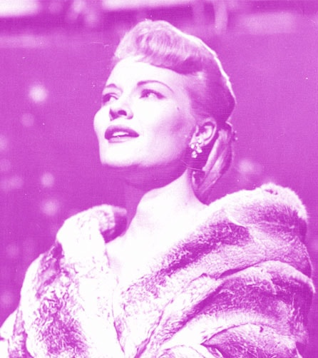 Singer Patti Page, date unknown