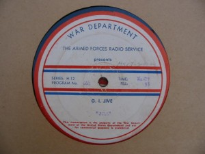 record label - G.I. Jive 661-662